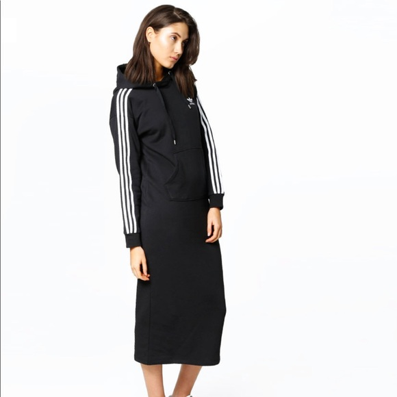 adidas hooded dress